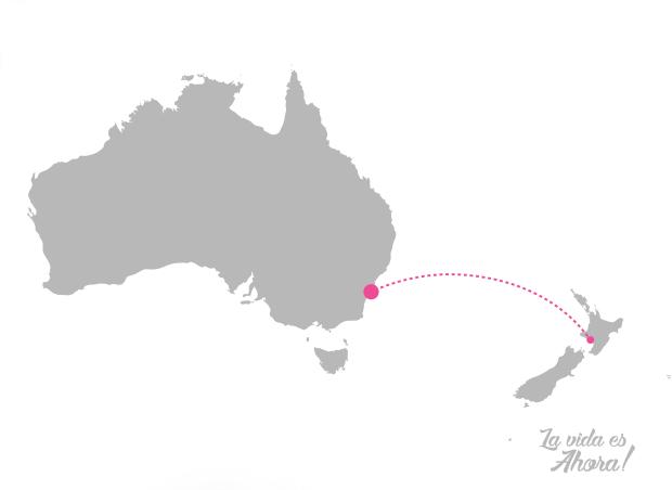 Mapa wellington sydney
